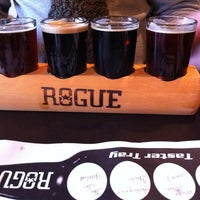 Photo taken at Rogue Ales Public House by Geoff on 11/12/2011