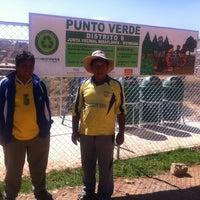 Photo taken at Punto Verde Miraflores Sivingani by GaiaSur G. on 9/12/2012