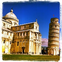 Photo taken at Piazza del Duomo (Piazza dei Miracoli) by Nicola C. on 3/17/2012