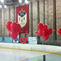 Photo taken at Дворец спорта СКА by Kris😜 on 2/17/2012