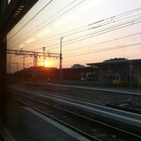 Photo taken at Verona Porta Nuova Railway Station by Davide R. on 9/6/2012