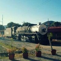 Photo taken at Vieja Estación De Ferrocarril by Joshimar V. on 10/20/2011