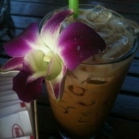 Photo taken at First Villa Resort  Pha-ngan by Alexandra U. on 1/27/2012
