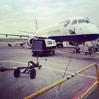 Photo taken at Edinburgh Airport (EDI) by Greg R. on 6/26/2012