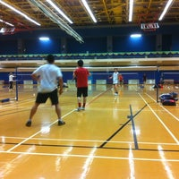 Photo taken at Kowloon Bay Sports Centre 九龍灣體育館 by John C. on 1/3/2012