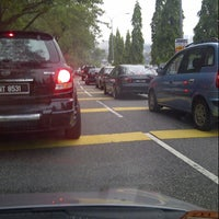Photo taken at Simpang Jalan Ampang & Jalan Jelatek by Hanna S. on 8/15/2012