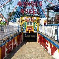 Photo taken at Deno's Wonder Wheel by Mike H. on 6/29/2012