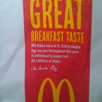 Photo taken at McDonald's by Stephanie S. on 12/2/2011