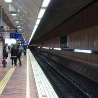 Photo taken at Melbourne Central Station by Abhinav B. on 4/20/2011