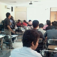 Photo taken at Ruang Kuliah 3.02 FK UNUD by PRAYUDI B. on 11/10/2011