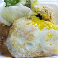 Photo taken at Young's Hawaiian BBQ by Sherrien S. on 5/11/2012