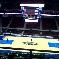 Photo taken at Mall of Asia Arena by Darlene P. on 8/4/2012