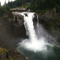 Photo taken at Snoqualmie Falls by Doug S. on 8/13/2011