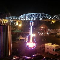 Photo taken at Hard Rock Cafe Nashville by Kris D. on 8/24/2012