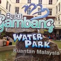 Photo taken at Bukit Gambang Water Park by Jeannie W. on 6/4/2012