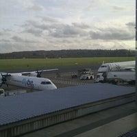 Photo taken at Southampton Airport (SOU) by Andrew J. on 11/24/2011