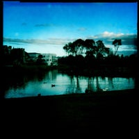 Photo taken at Centennial Lagoon by KT on 6/29/2011