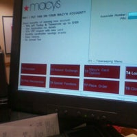 Photo taken at Macy's by Dion W. on 10/29/2011