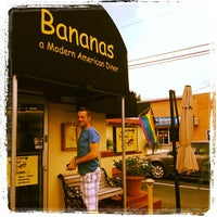 Photo taken at Bananas Modern American Diner by Nicole H. on 8/24/2012