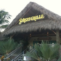 Photo taken at Sunset Grille & Raw Bar by Diana V. on 7/7/2012