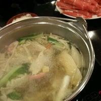 Photo taken at 정성본샤브수끼 by jiyun k. on 3/12/2012