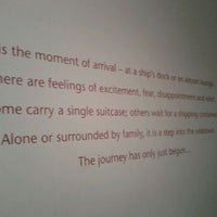 Photo taken at Immigration Museum by Therese T. on 1/18/2012