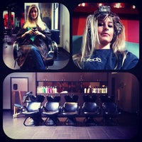 Photo taken at Daireds Salon & Spa Pangea by Erica S. on 5/22/2012