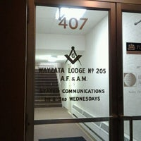 Photo taken at Wayzata Masonic Lodge #205 by Jill G. on 10/2/2011