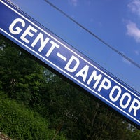 Photo taken at Station Gent-Dampoort by Doneley B. on 4/30/2011