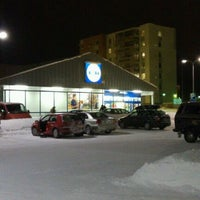 Photo taken at Lidl by Antti U. on 1/14/2011