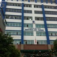 Photo taken at Đại học Nguyễn Tất Thành by Khanh P. on 3/21/2012