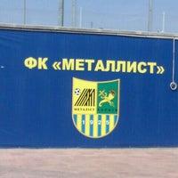 Photo taken at Metalist Stadium by Nina S. on 8/12/2012