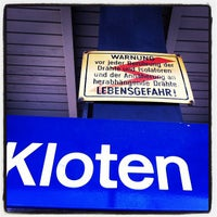 Photo taken at Bahnhof Kloten by Humphry N. on 3/16/2012