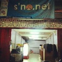 Photo taken at Warnet S'No.Net by Debi R. on 4/7/2012