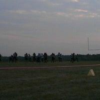 Photo taken at BH Minutemen Football Field by Alex B. on 8/25/2012