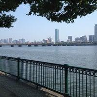 Photo taken at Harvard Bridge by Karsten H. on 8/4/2012