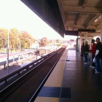 Photo taken at Bay Fair BART Station by Paul M. on 4/16/2012