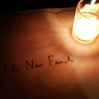 Photo taken at The New French by Jason K. on 7/7/2012