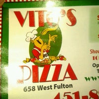 Photo taken at Vito's Pizza by Kiki M. on 8/20/2012