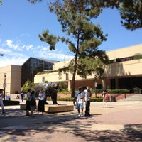 Photo taken at UCLA Bruin Statue by Christian T. on 9/4/2012