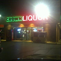 Photo taken at Crown Liquor by Shorty S. on 3/14/2012