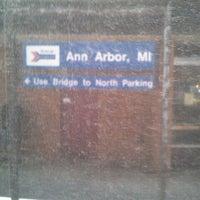 Photo taken at Amtrak - Ann Arbor Station (ARB) by Chaun S. on 6/23/2012