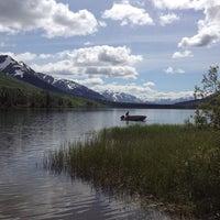 Photo taken at Summit Lake Lodge by Sarah H. on 6/29/2012