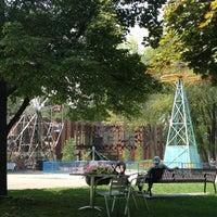 Photo taken at Liberty Park by Miranda B. on 8/17/2012