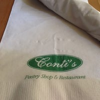 Photo taken at Conti's Bakeshop & Restaurant by Raze A. on 7/28/2012