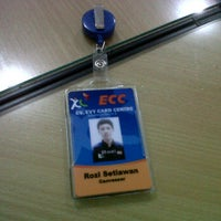 Photo taken at ECC XL SLEMAN by Rozy S. on 3/30/2012