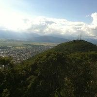 Photo taken at Cerro San Bernardo by Hernan C. on 4/1/2012