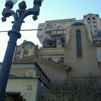 Photo taken at The Twilight Zone Tower of Terror by Mathieu A. on 2/3/2012