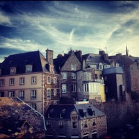 Photo taken at Intra-Muros – Centre de Saint-Malo by Paolo C. on 8/19/2012
