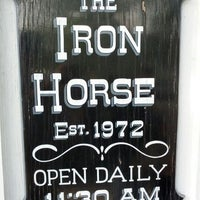 Photo taken at The Iron Horse by Andrew H. on 4/28/2012